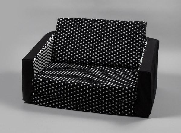 שחור נקודות - ספה מפנקת