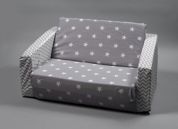 אפור כוכבים - ספה מפנקת