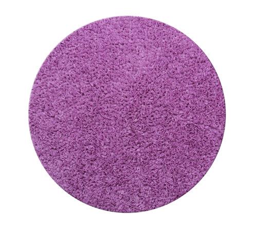 שטיח עגול - סגול 120 קוטר