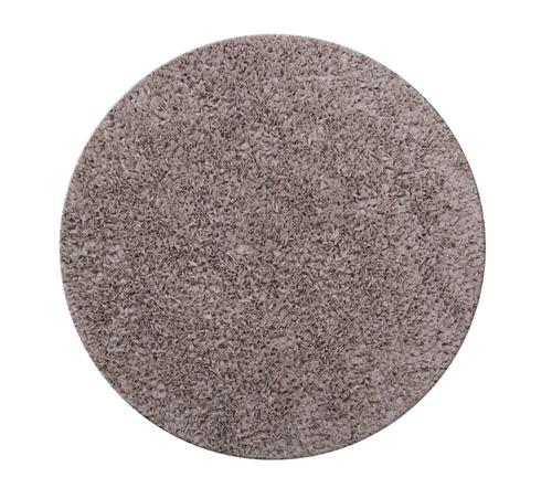 שטיח עגול - אפור 120 קוטר