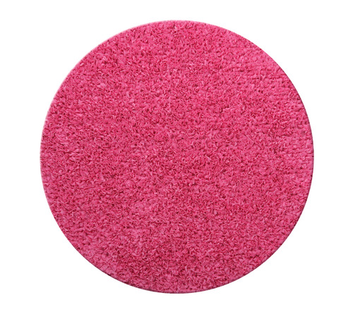 שטיח עגול - ורוד פוקסיה 130 קוטר