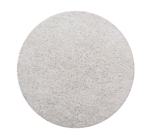 שטיח עגול - לבן 130 קוטר