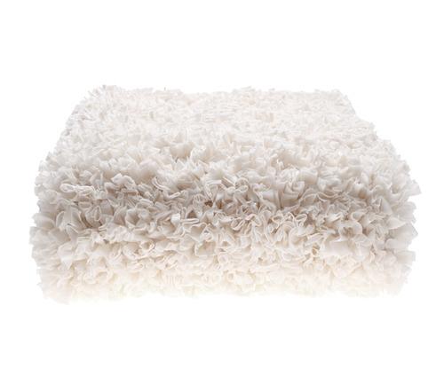 שטיח מלבן - לבן 90/150