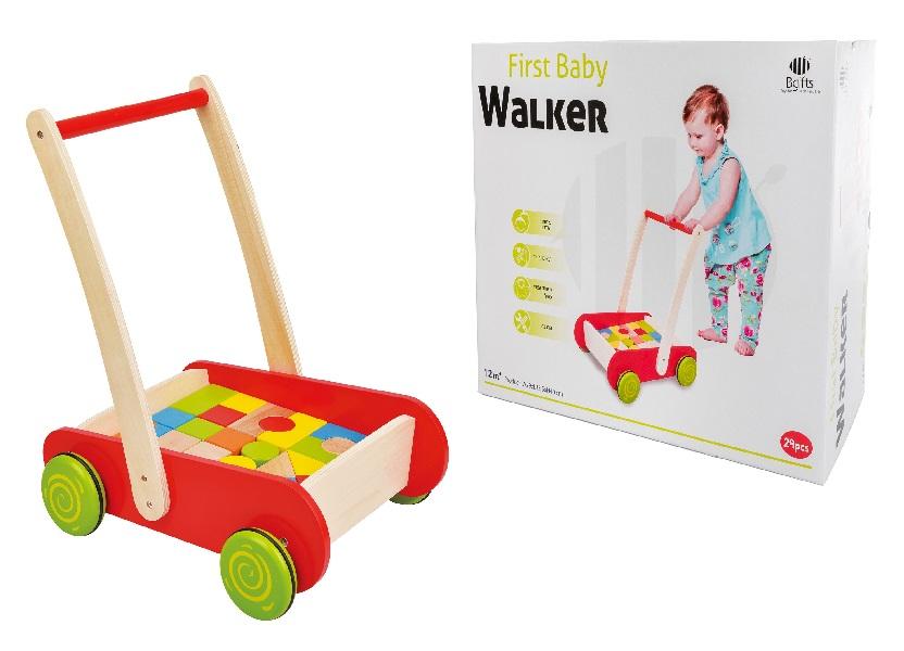 הליכון לתינוק 12 חודשים - צעצועי עץ