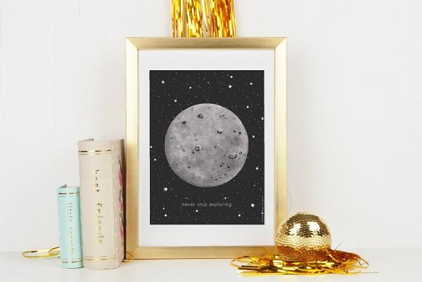 פוסטר ירח - תמונות