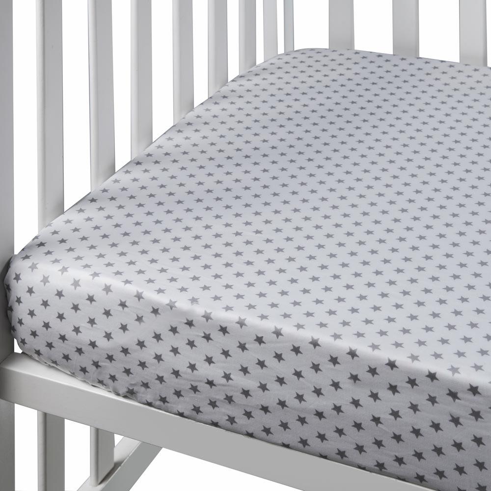 לבן כוכבים - סדין למיטת נוער