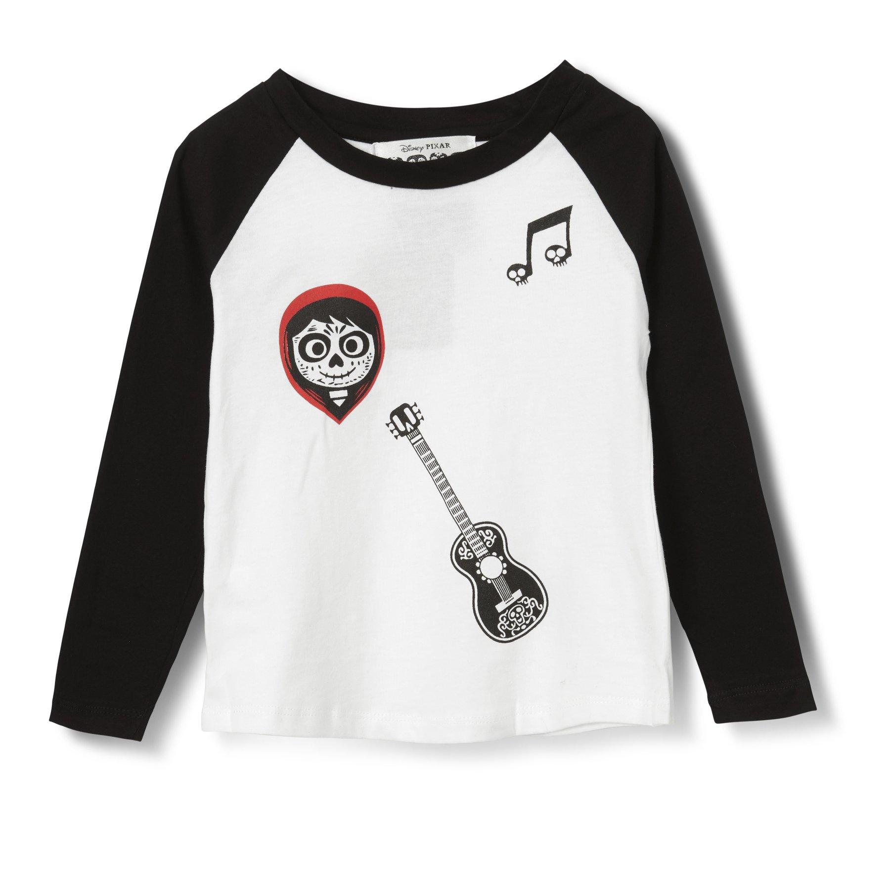 חולצה אמריקאית קוקו - שחור לבן