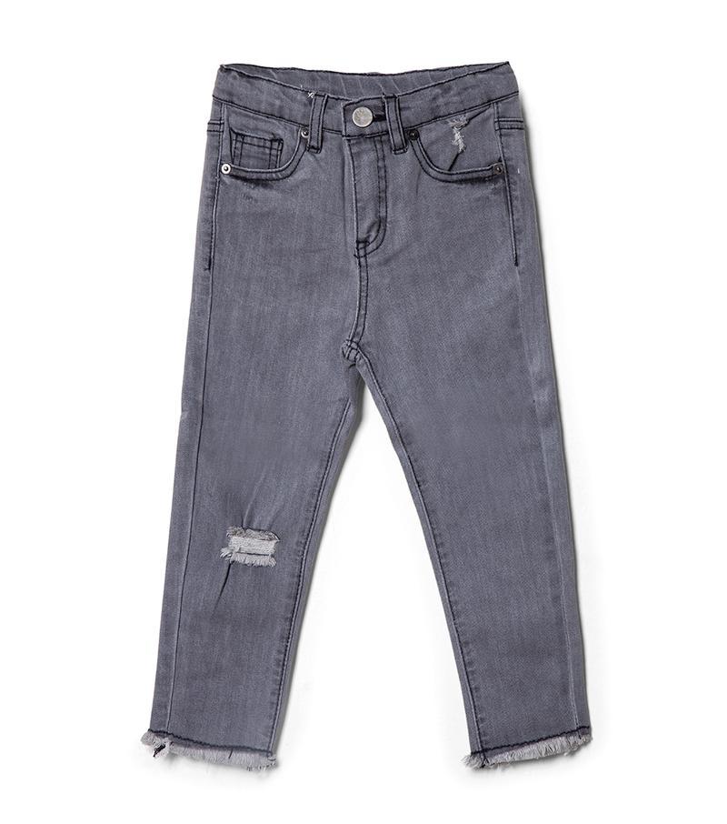 מכנסי ג'ינס אדיסון - אפור
