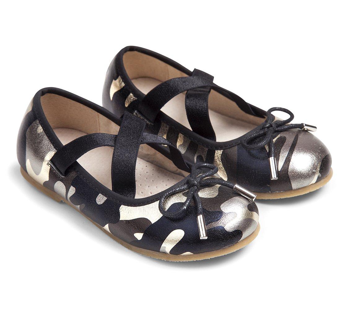 נעלי בובה רוקי - מראה צבאי