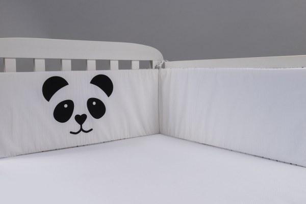 פנדה - מגן ראש למיטת תינוק