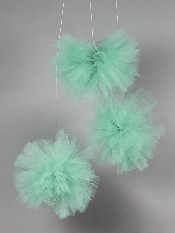 פונפון ירוק - אקססוריז לחדר