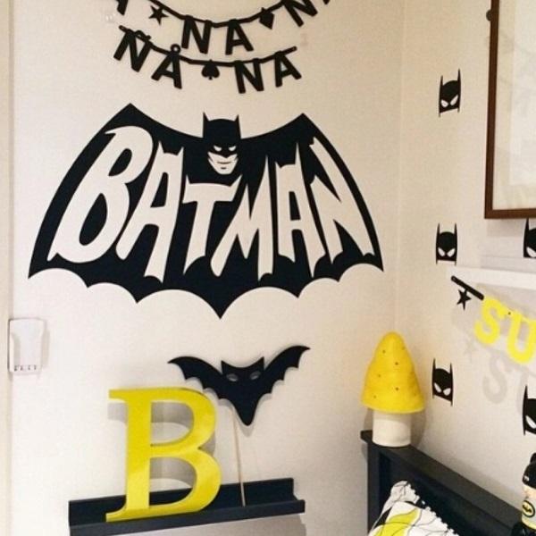 באטמן מדבקת קיר - מדבקות קיר