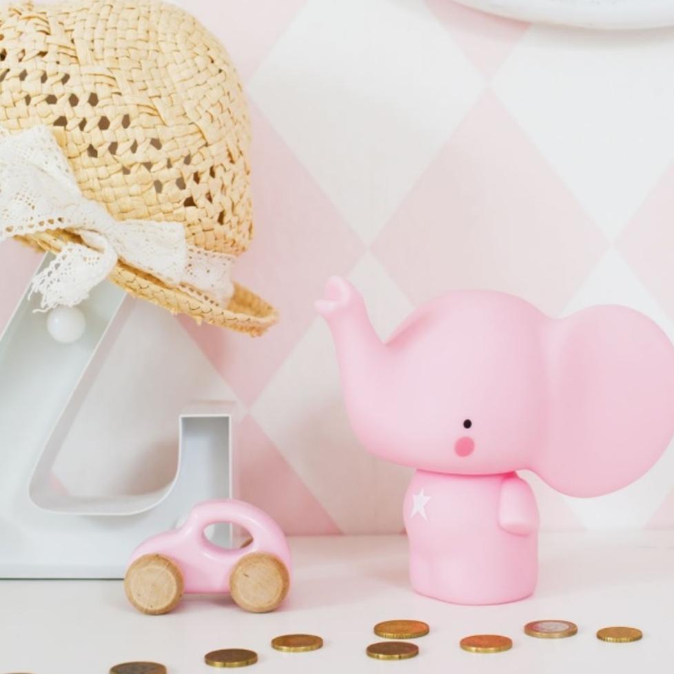פיל ורוד - קופת חיסכון