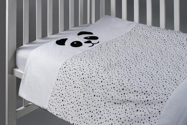 פנדה - שמיכה למיטת תינוק