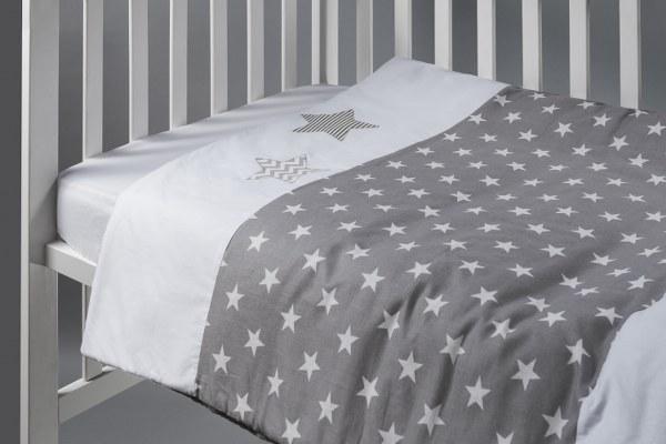 זוג כוכבים - שמיכה למיטת תינוק