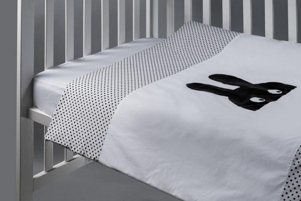ארנב - שמיכה למיטת תינוק