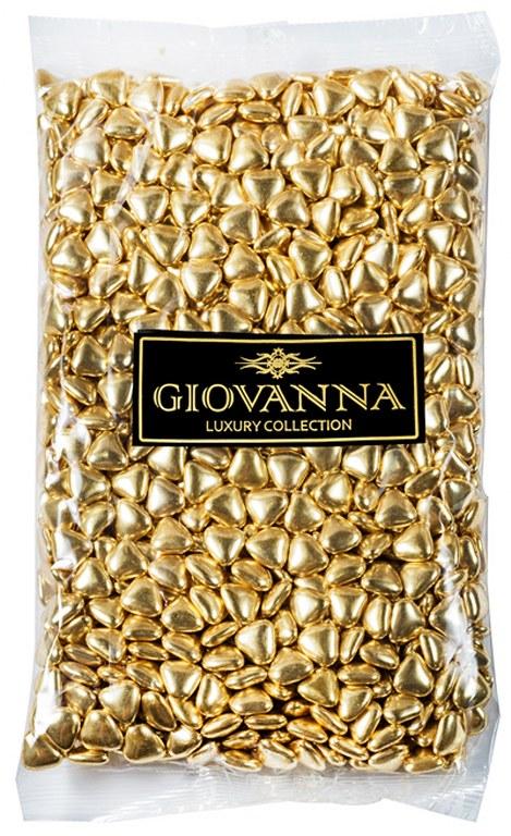 עדשים לב משוקולד זהב מטלי