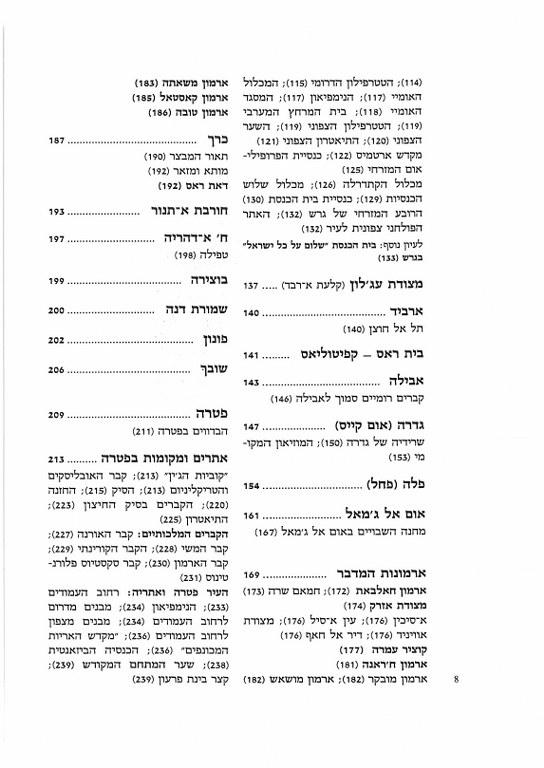 אתרים ומקומות בירדן - אריאל 110-111