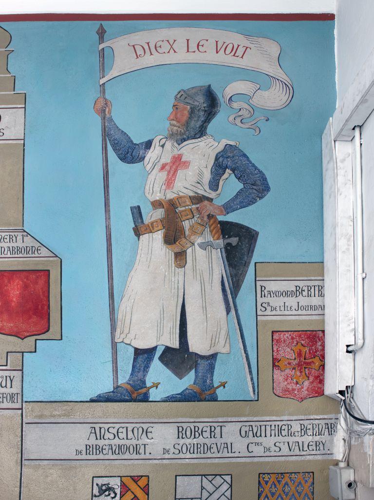 ציורי הקיר המופלאים בבית החולים סאן לואי בירושלים