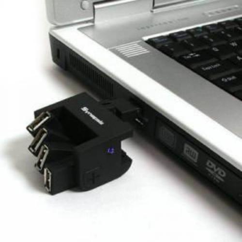 מפצל USB 2.0 בעל זרועות מתכווננות