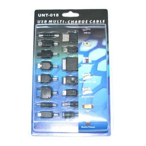 כבל USB אוניברסלי מתאים לעשרות מוצרים