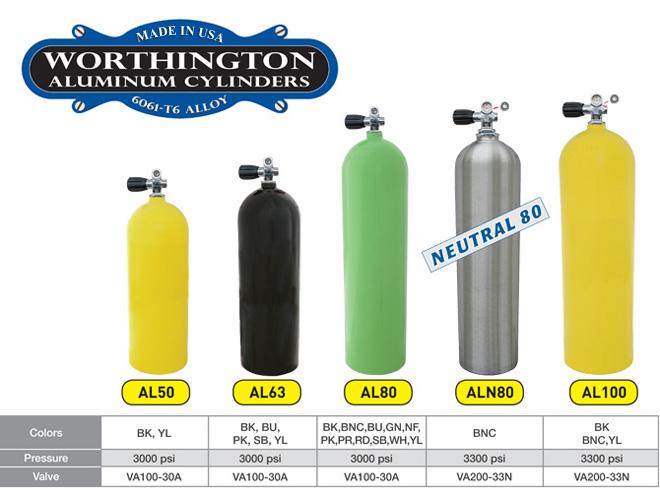 מיכל אלומיניום 11.1 ליטר (12 ליטר)