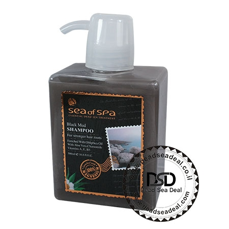 שמפו בוץ שחור – מועשר בשמן האובלפיחה סי אוף ספא