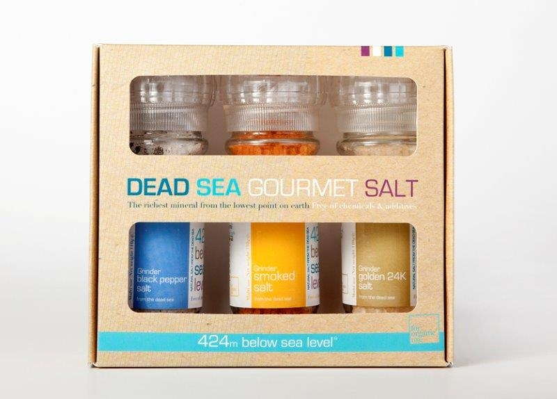מלח ים המלח במארז אקזוטי סדרה קלאסית
