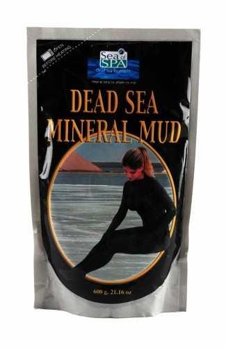 בוץ שחור ים המלח מגנזיום