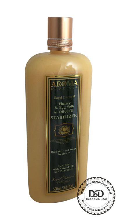 שמפו בוץ  בתוספת דבש שמן זית חלמונים