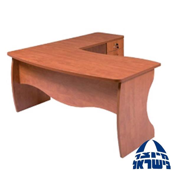 שולחן ארגונומי למשרד בכל מידה וגוון דגם גלילאו