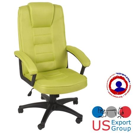 כיסא מנהלים מבד גב ארגונומי   מרופד בבד  אביב אוורירי דגם סטנפורד