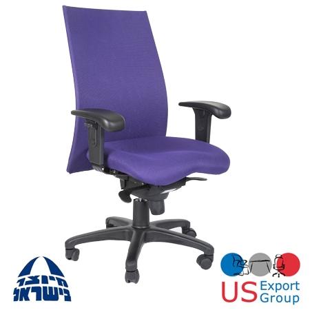 כסא מחשב גב  רשת אורטופדי תומך גב תחתון  ומושב אנטומי לשמירה על בריאות  המשתמש