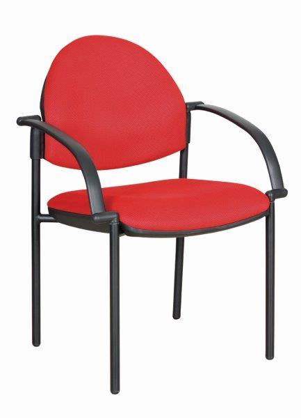 כסא אורח/סיעודי מרופד כולל משענות ידיים דגם נרקיס
