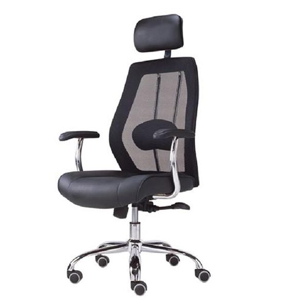 כסא מנהלים גב רשת ארגונמי עם תמיכה אורטופדית דגם פלמינגו