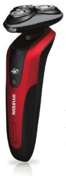 מכונת גילוח כשרה נטענת יונדאי 4D