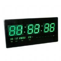 שעון קיר דיגיטלי גדול