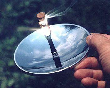 מדליק סיגריות ואש סולארי
