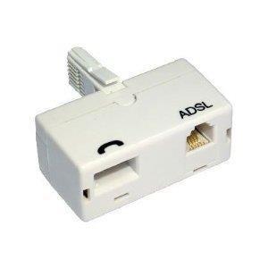 האזנה במפצל ADSL