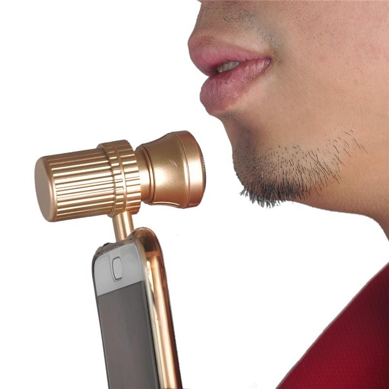 מכונת גילוח המתחברת לסמארטפון