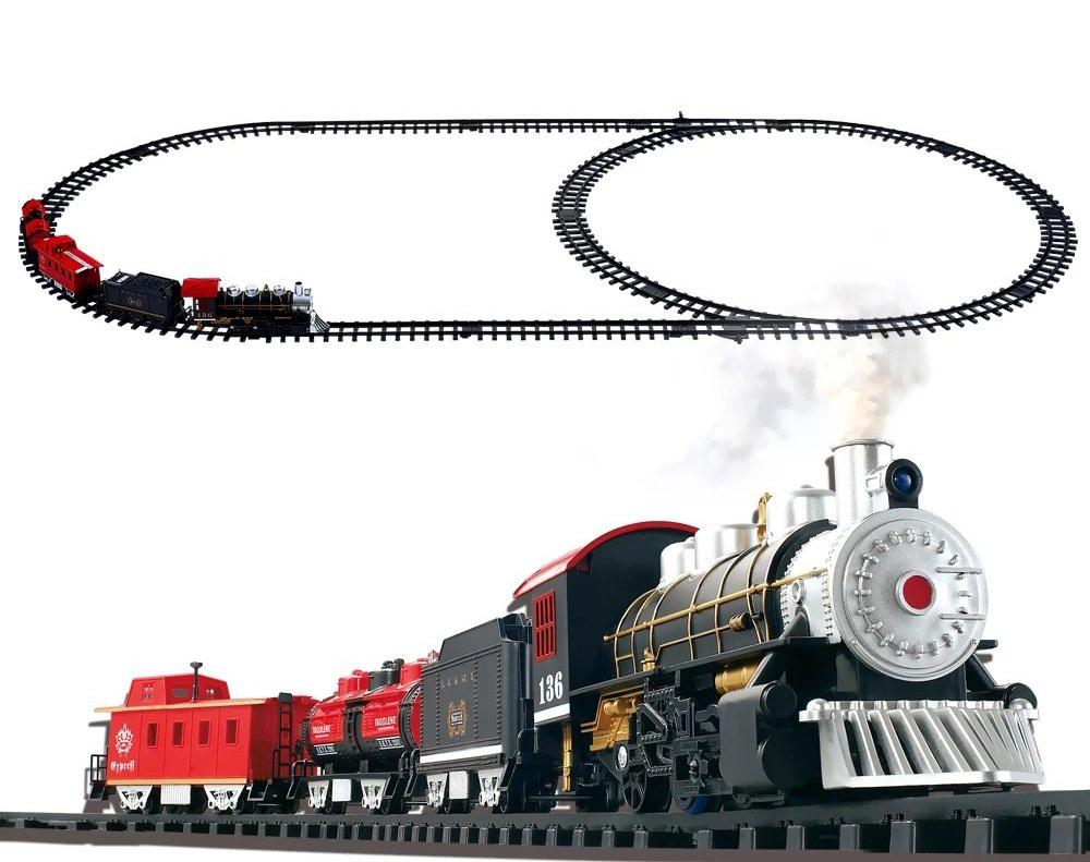 רכבת קלסית עם עשן