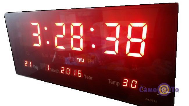 שעון קיר דיגיטלי בינוני