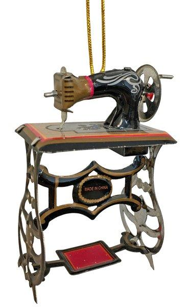 מכונת תפירה מפח פריט אספנות