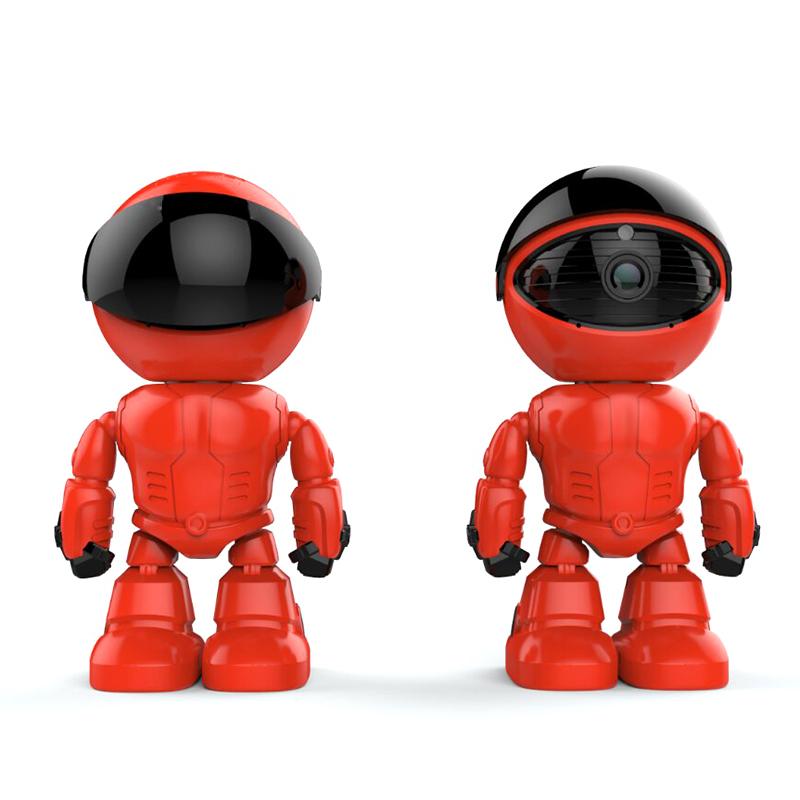 מצלמה אלחוטית בצורת רובוט - חסר במלאי