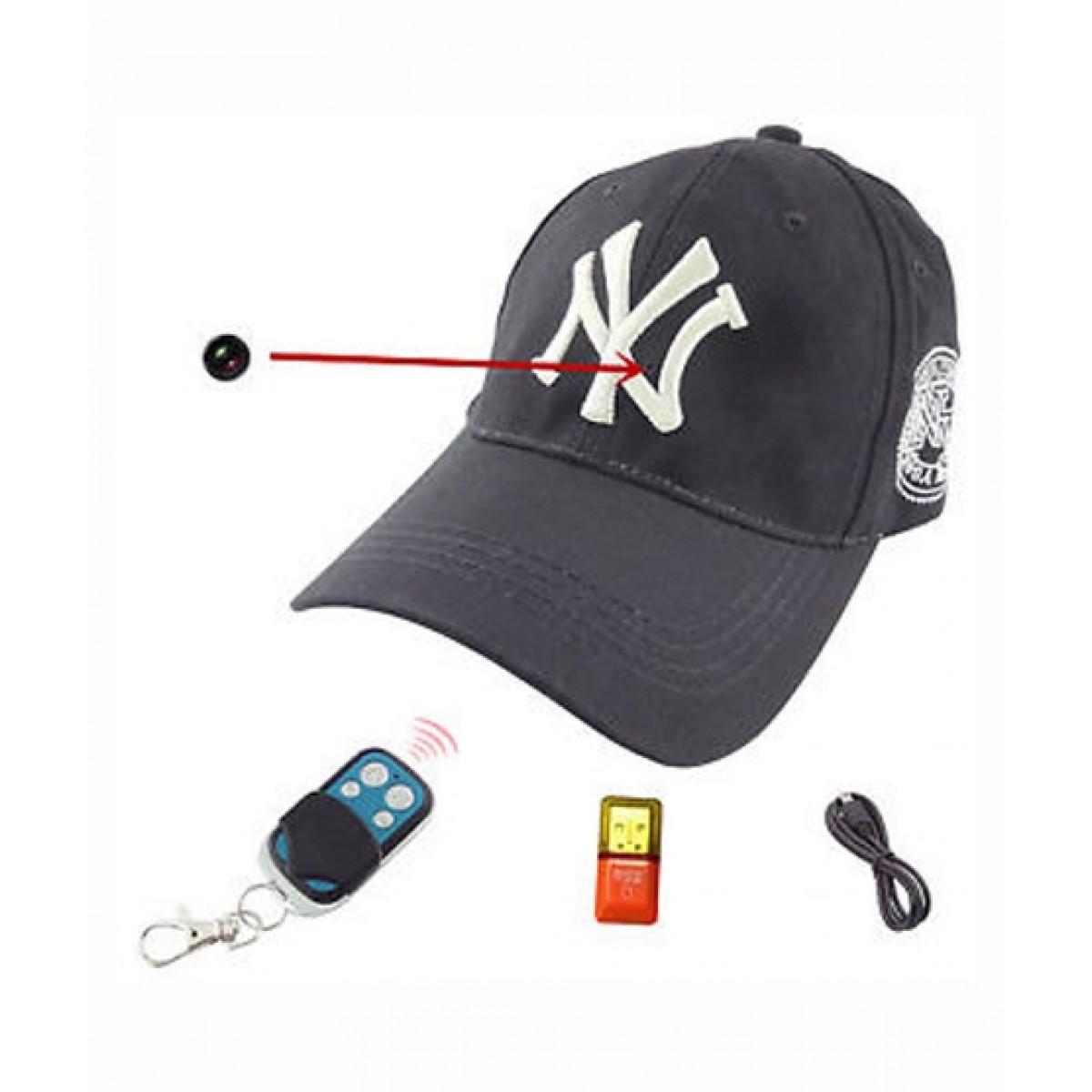 מצלמה בכובע בייסבול - חסר במלאי