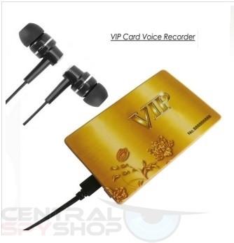 מכשיר הקלטה בצורת כרטיס אשראי