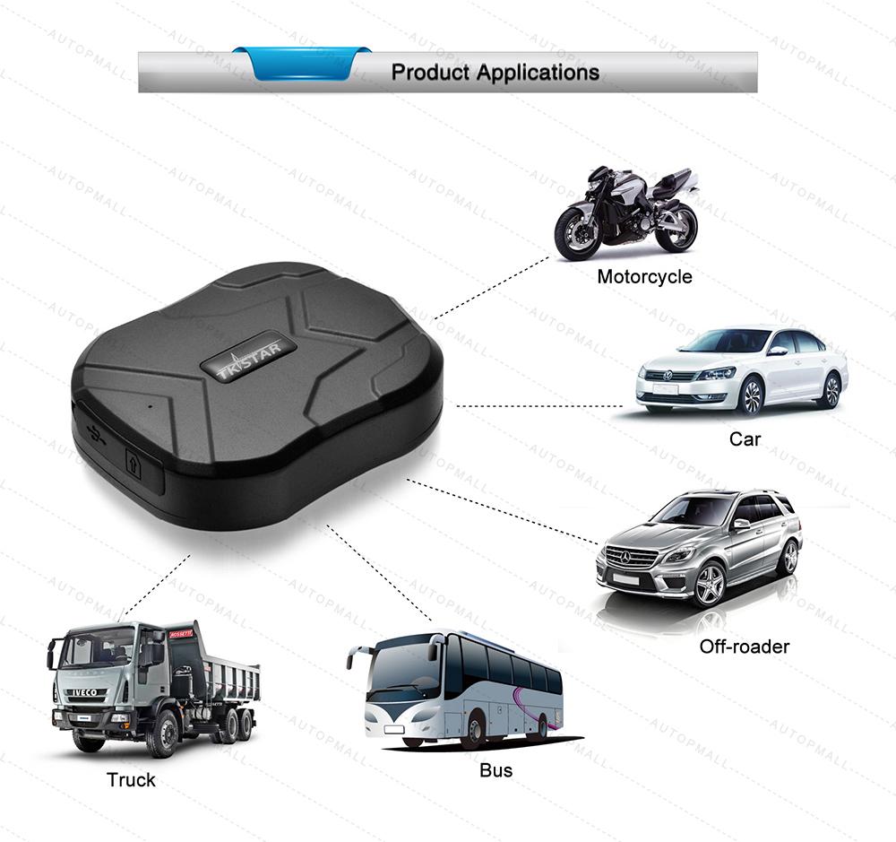 מכשיר מעקב לרכב עם gps