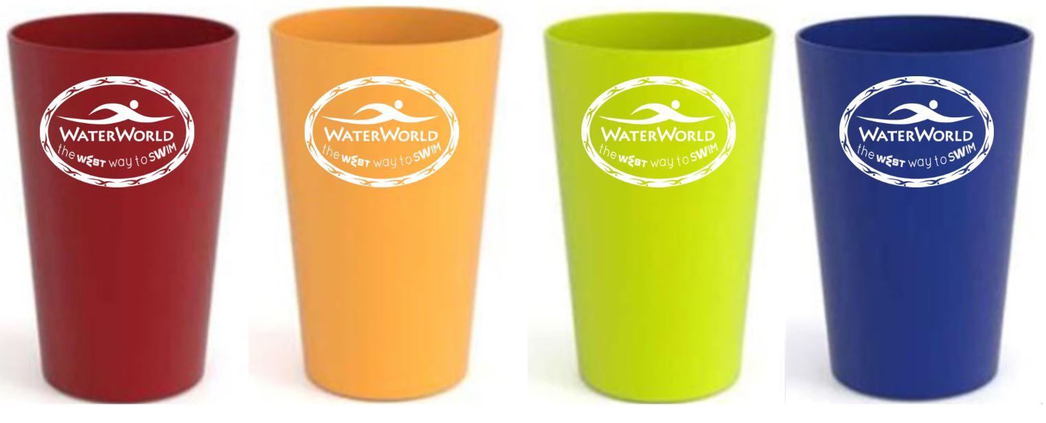 הדפסה על כוסות פלסטיק רב פעמיות