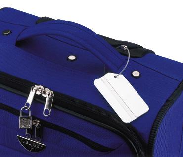 תג למזוודה מאלומיניום | תגים למזוודה