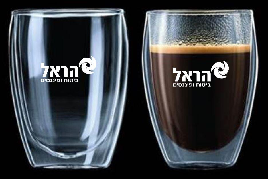 כוסות זכוכית כפולה
